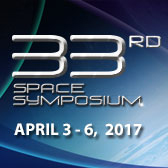 33rd Space Symposium April 3 - 6, 2017