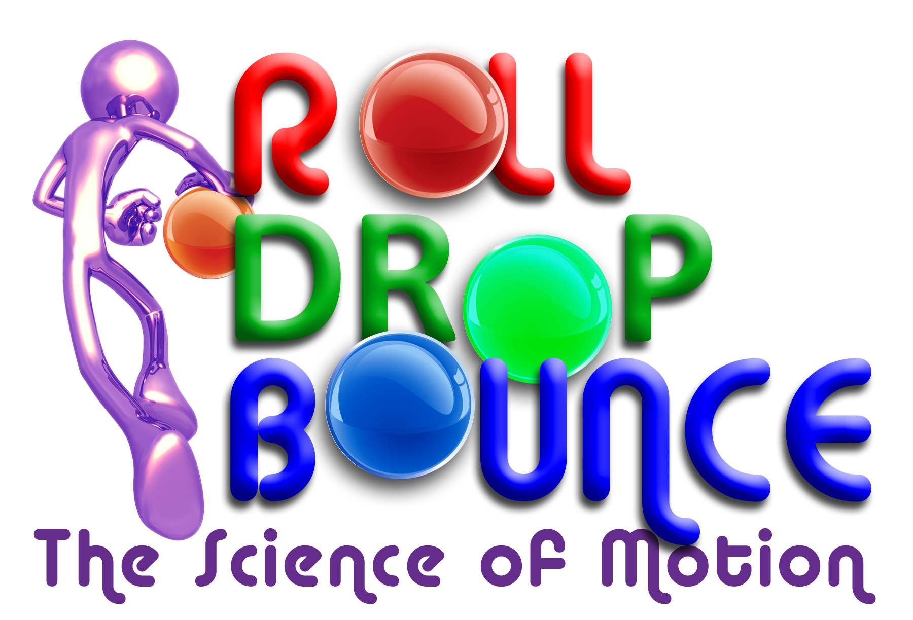Roll Drop Bounce logo