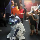 R2D2 in Discovery Center