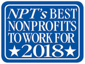 Best Nonprofit Organizatiosn to Work For logo 2018