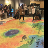 Picture of Giant Mars Map